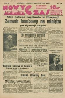 Nowy Czas. R.4, nr 115 (27 kwietnia 1934)
