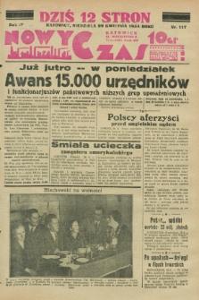 Nowy Czas. R.4, nr 117 (29 kwietnia 1934)