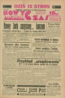 Nowy Czas. R.4, nr 131 (13 maja 1934)