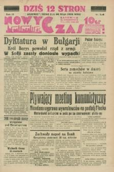 Nowy Czas. R.4, nr 138 (20 maja 1934)