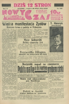 Nowy Czas. R.4, nr 142 (25 maja 1934)