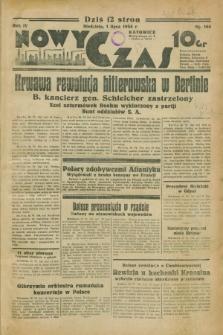 Nowy Czas. R.4, nr 164 (1 lipca 1934)