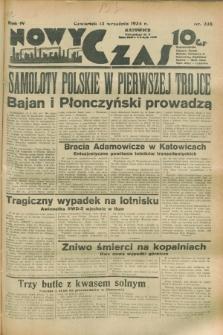 Nowy Czas. R.4, nr 238 (13 września 1934)