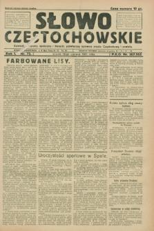 Słowo Częstochowskie : dziennik polityczny, społeczny i literacki, poświęcony sprawom miasta Częstochowy i powiatu. R.1, nr 75 (16 czerwca 1931)
