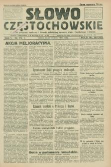 Słowo Częstochowskie : dziennik polityczny, społeczny i literacki, poświęcony sprawom miasta Częstochowy i powiatu. R.1, nr 79 (20 czerwca 1931)