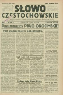 Słowo Częstochowskie : dziennik polityczny, społeczny i literacki, poświęcony sprawom miasta Częstochowy i powiatu. R.1, nr 80 (21 czerwca 1931)
