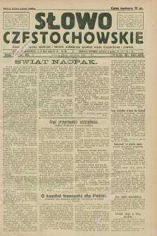 Słowo Częstochowskie : dziennik polityczny, społeczny i literacki, poświęcony sprawom miasta Częstochowy i powiatu. R.1, nr 85 (27 czerwca 1931)