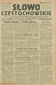 Słowo Częstochowskie : dziennik polityczny, społeczny i literacki, poświęcony sprawom miasta Częstochowy i powiatu. R.1, nr 90 (4 lipca 1931)