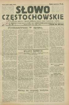 Słowo Częstochowskie : dziennik polityczny, społeczny i literacki, poświęcony sprawom miasta Częstochowy i powiatu. R.1, nr 98 (14 lipca 1931)