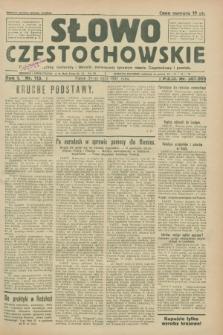 Słowo Częstochowskie : dziennik polityczny, społeczny i literacki, poświęcony sprawom miasta Częstochowy i powiatu. R.1, nr 113 (31 lipca 1931)