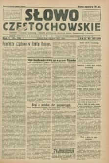 Słowo Częstochowskie : dziennik polityczny, społeczny i literacki, poświęcony sprawom miasta Częstochowy i powiatu. R.1, nr 120 (8 sierpnia 1931)