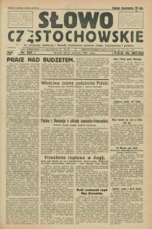 Słowo Częstochowskie : dziennik polityczny, społeczny i literacki, poświęcony sprawom miasta Częstochowy i powiatu. R.1, nr 133 (25 sierpnia 1931)