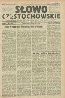 Słowo Częstochowskie : dziennik polityczny, społeczny i literacki, poświęcony sprawom miasta Częstochowy i powiatu. R.1, nr 137 (29 sierpnia 1931)