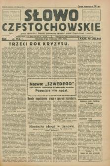 Słowo Częstochowskie : dziennik polityczny, społeczny i literacki, poświęcony sprawom miasta Częstochowy i powiatu. R.1, nr 144 (6 września 1931)