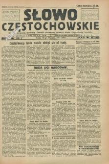 Słowo Częstochowskie : dziennik polityczny, społeczny i literacki, poświęcony sprawom miasta Częstochowy i powiatu. R.1, nr 152 (16 września 1931)