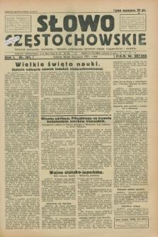 Słowo Częstochowskie : dziennik polityczny, społeczny i literacki, poświęcony sprawom miasta Częstochowy i powiatu. R.1, nr 161 (26 września 1931)