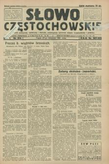 Słowo Częstochowskie : dziennik polityczny, społeczny i literacki, poświęcony sprawom miasta Częstochowy i powiatu. R.1, nr 214 (27 listopada 1931)