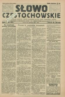 Słowo Częstochowskie : dziennik polityczny, społeczny i literacki, poświęcony sprawom miasta Częstochowy i powiatu. R.1, nr 218 (2 grudnia 1931)