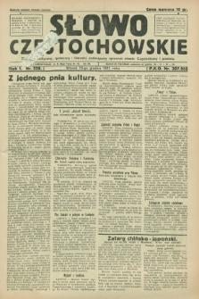 Słowo Częstochowskie : dziennik polityczny, społeczny i literacki, poświęcony sprawom miasta Częstochowy i powiatu. R.1, nr 228 (15 grudnia 1931)