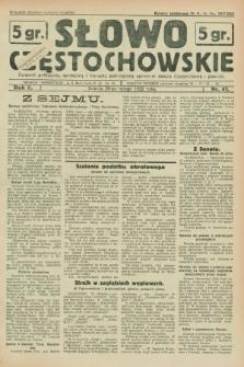 Słowo Częstochowskie : dziennik polityczny, społeczny i literacki, poświęcony sprawom miasta Częstochowy i powiatu. R.2, nr 41 (20 lutego 1932)