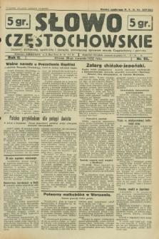 Słowo Częstochowskie : dziennik polityczny, społeczny i literacki, poświęcony sprawom miasta Częstochowy i powiatu. R.2, nr 95 (26 kwietnia 1932)