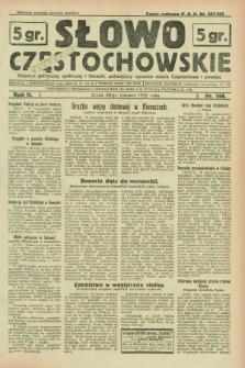 Słowo Częstochowskie : dziennik polityczny, społeczny i literacki, poświęcony sprawom miasta Częstochowy i powiatu. R.2, nr 146 (29 czerwca 1932)