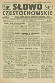 Słowo Częstochowskie : dziennik polityczny, społeczny i literacki, poświęcony sprawom miasta Częstochowy i powiatu. R.2, nr 151 (6 lipca 1932)