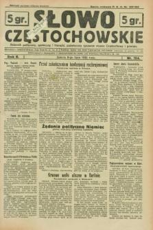 Słowo Częstochowskie : dziennik polityczny, społeczny i literacki, poświęcony sprawom miasta Częstochowy i powiatu. R.2, nr 154 (9 lipca 1932)