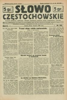 Słowo Częstochowskie : dziennik polityczny, społeczny i literacki, poświęcony sprawom miasta Częstochowy i powiatu. R.2, nr 195 (27 sierpnia 1932)
