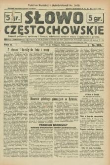 Słowo Częstochowskie : dziennik polityczny, społeczny i literacki, poświęcony sprawom miasta Częstochowy i powiatu. R.2, nr 259 (11 listopada 1932)