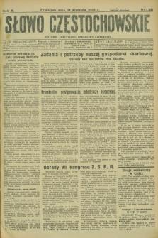 Słowo Częstochowskie : dziennik polityczny, społeczny i literacki. R.5, nr 26 (31 stycznia 1935)