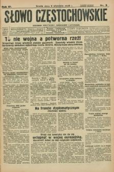 Słowo Częstochowskie : dziennik polityczny, społeczny i literacki. R.6, nr 5 (8 stycznia 1936)