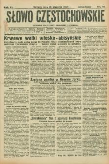 Słowo Częstochowskie : dziennik polityczny, społeczny i literacki. R.6, nr 14 (18 stycznia 1936)