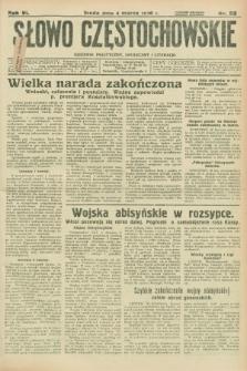 Słowo Częstochowskie : dziennik polityczny, społeczny i literacki. R.6, nr 53 (4 marca 1936)