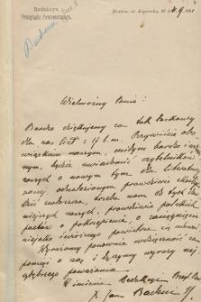 Korespondencja Dionizego Zaleskiego z lat 1860-1932. T. 1, A - D