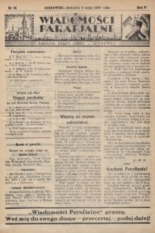 """Wiadomości Parafjalne : dodatek do tygodników """"Niedziela"""" i""""Przewodnika Katolickiego"""". 1938, nr16"""