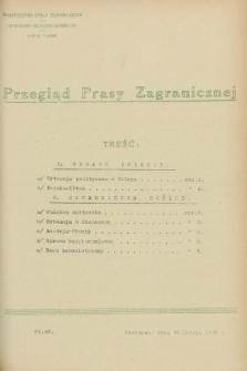 Przegląd Prasy Zagranicznej. 1928, nr 49 (29 lutego)