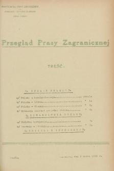Przegląd Prasy Zagranicznej. 1928, nr 51 (2 marca)
