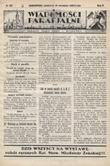 """Wiadomości Parafjalne : dodatek do tygodników """"Niedziela"""" i""""Przewodnika Katolickiego"""". 1938, nr26"""