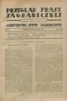 Przegląd Prasy Zagranicznej : codzienny biuletyn Wydziału Prasowego Ministerstwa Spraw Zagranicznych. R.3, nr 40 (20 czerwca 1928) = nr 139
