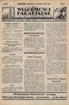 """Wiadomości Parafjalne : dodatek do tygodników """"Niedziela"""" i""""Przewodnika Katolickiego"""". 1938, nr31"""
