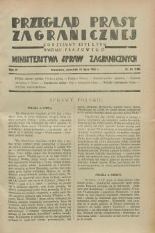 Przegląd Prasy Zagranicznej : codzienny biuletyn Wydziału Prasowego Ministerstwa Spraw Zagranicznych. R.3, nr 64 (19 lipca 1928) = nr 163