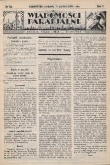 """Wiadomości Parafjalne : dodatek do tygodników """"Niedziela"""" i""""Przewodnika Katolickiego"""". 1938, nr32"""