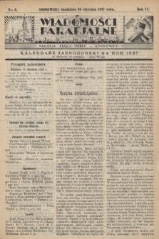 """Wiadomości Parafjalne : dodatek do tygodników """"Niedziela"""" i""""Przewodnika Katolickiego"""". 1937, nr2"""