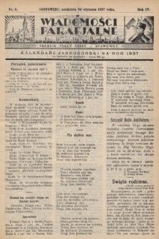 """Wiadomości Parafjalne : dodatek do tygodników """"Niedziela"""" i""""Przewodnika Katolickiego"""". 1937, nr4"""