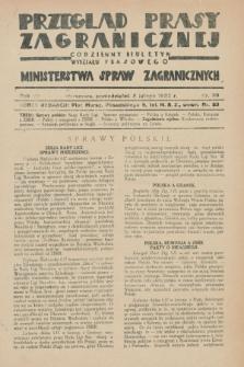 Przegląd Prasy Zagranicznej : codzienny biuletyn Wydziału Prasowego Ministerstwa Spraw Zagranicznych. R.7, nr 30 (8 lutego 1932)