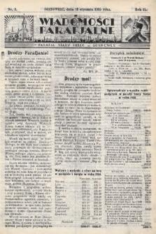 """Wiadomości Parafjalne : dodatek do tygodników """"Niedziela"""" i""""Przewodnika Katolickiego"""". 1935, nr2"""