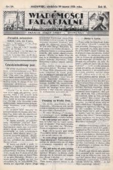 """Wiadomości Parafjalne : dodatek do tygodników """"Niedziela"""" i""""Przewodnika Katolickiego"""". 1935, nr10"""