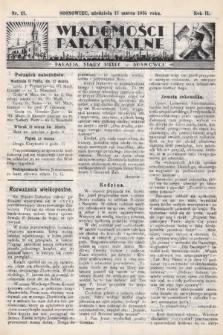 """Wiadomości Parafjalne : dodatek do tygodników """"Niedziela"""" i""""Przewodnika Katolickiego"""". 1935, nr11"""