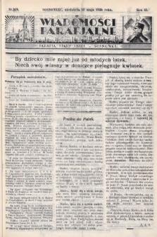 """Wiadomości Parafjalne : dodatek do tygodników """"Niedziela"""" i""""Przewodnika Katolickiego"""". 1935, nr19"""